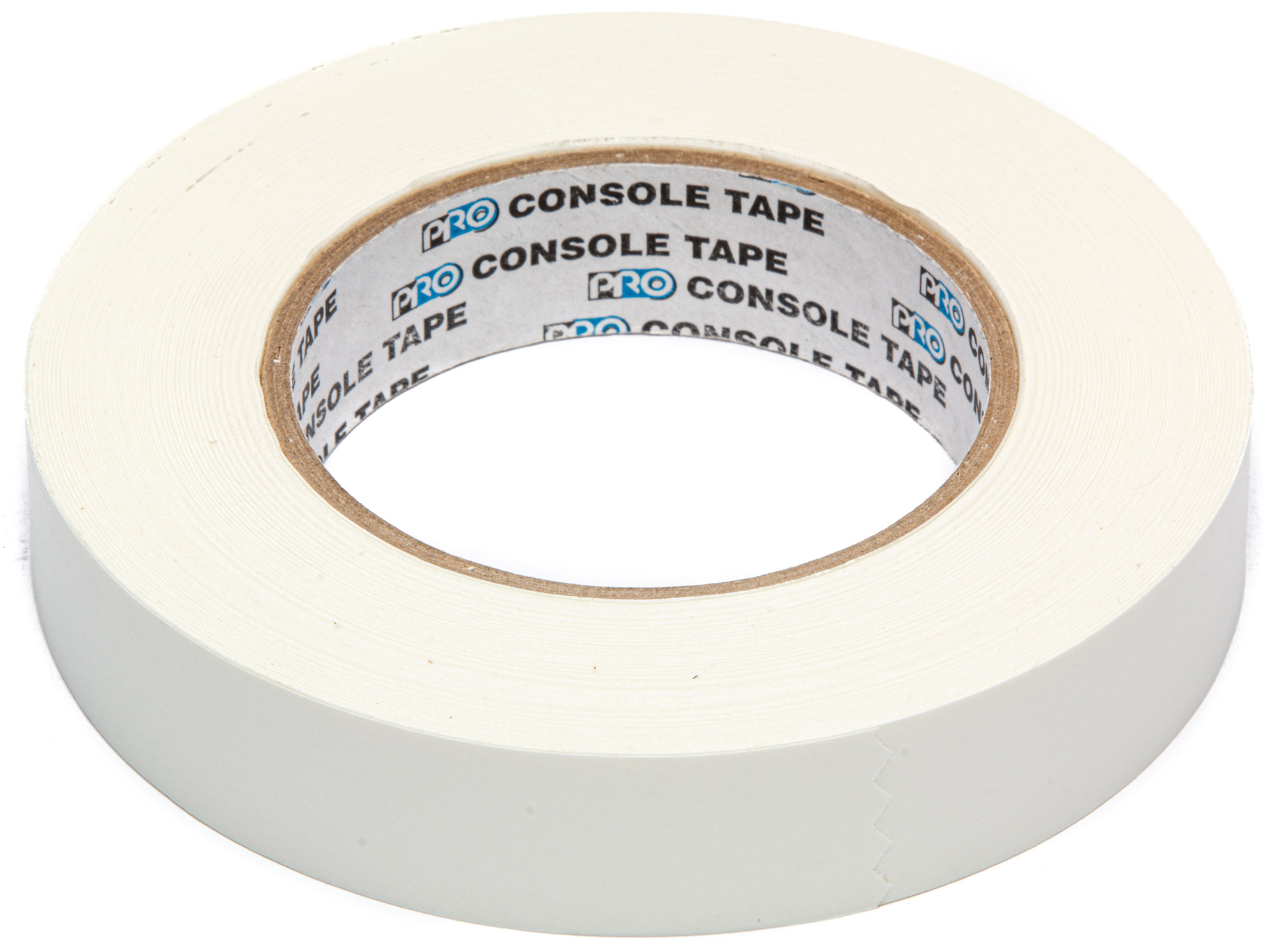 Pro Tapes 1-Inch Wide White Removable Console Tape