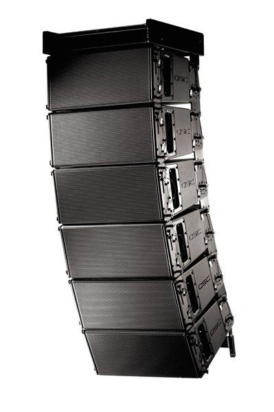 qsc wl3082 bk wideline 8 line array speaker system black. Black Bedroom Furniture Sets. Home Design Ideas