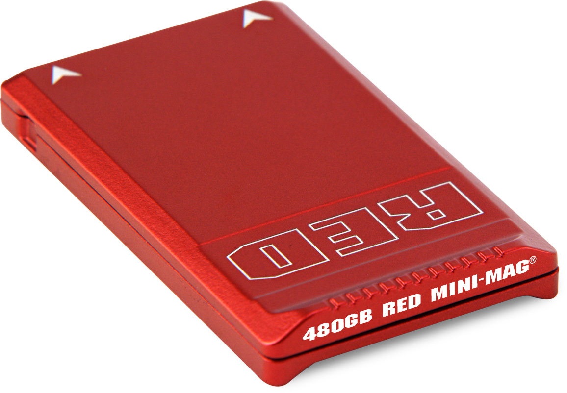 RED Camera 750-0090 RED MINI-MAG SSD - up to 300 MB/s - 480GB REDC-750-0090