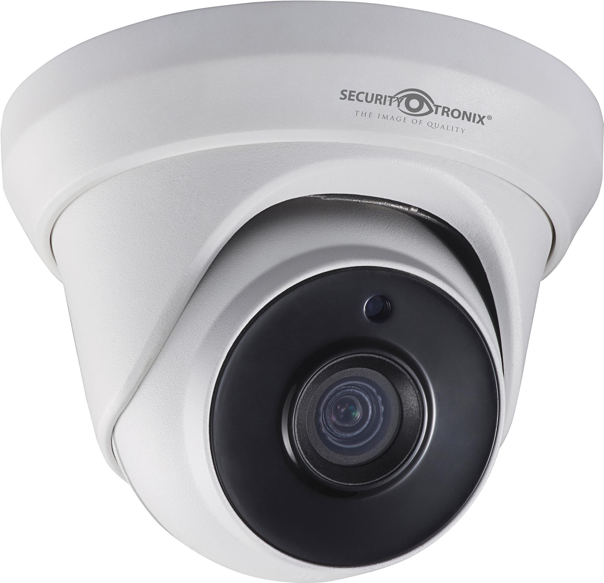 SecurityTronix ST-HDC2FTD-2.8 2MP HD-TVI Fixed Lens Turret Dome Camera SCT-ST-HDC2FTD28