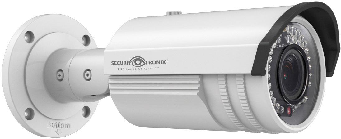 SecurityTronix ST-IP2VFB 2MP IP Manual Varifocal Lens Bullet Camera SCT-ST-IP2VFB