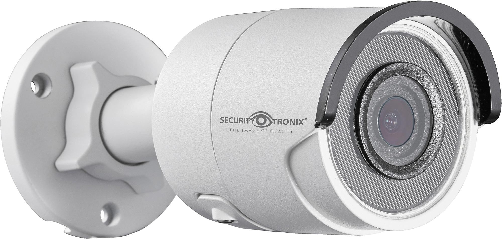 SecurityTronix ST-IP4FB 4MP IP Fixed Lens Mini-Bullet Camera SCT-ST-IP4FB