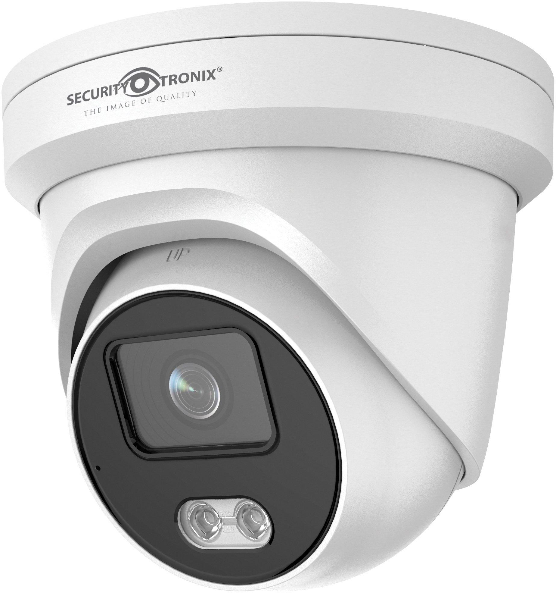 SecurityTronix ST-IP4FTD-CNV 4 MP Chroma IP Fixed Turret Dome Camera SCT-ST-IP4FTDCNV