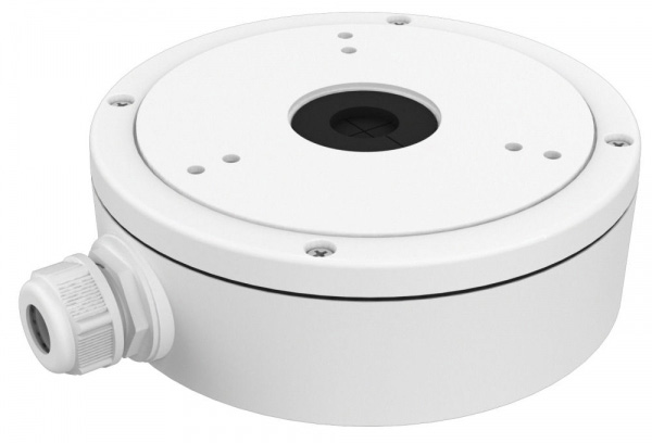 SecurityTronix ST-JB2 Junction Box for Turret Dome Camera with Conduit Intake SCT-ST-JB2