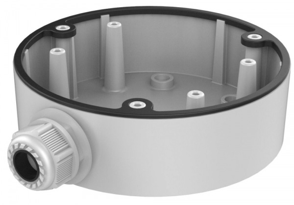 SecurityTronix ST-JB3 Junction Box for Dome Camera with Side or Bottom Conduit Intake SCT-ST-JB3