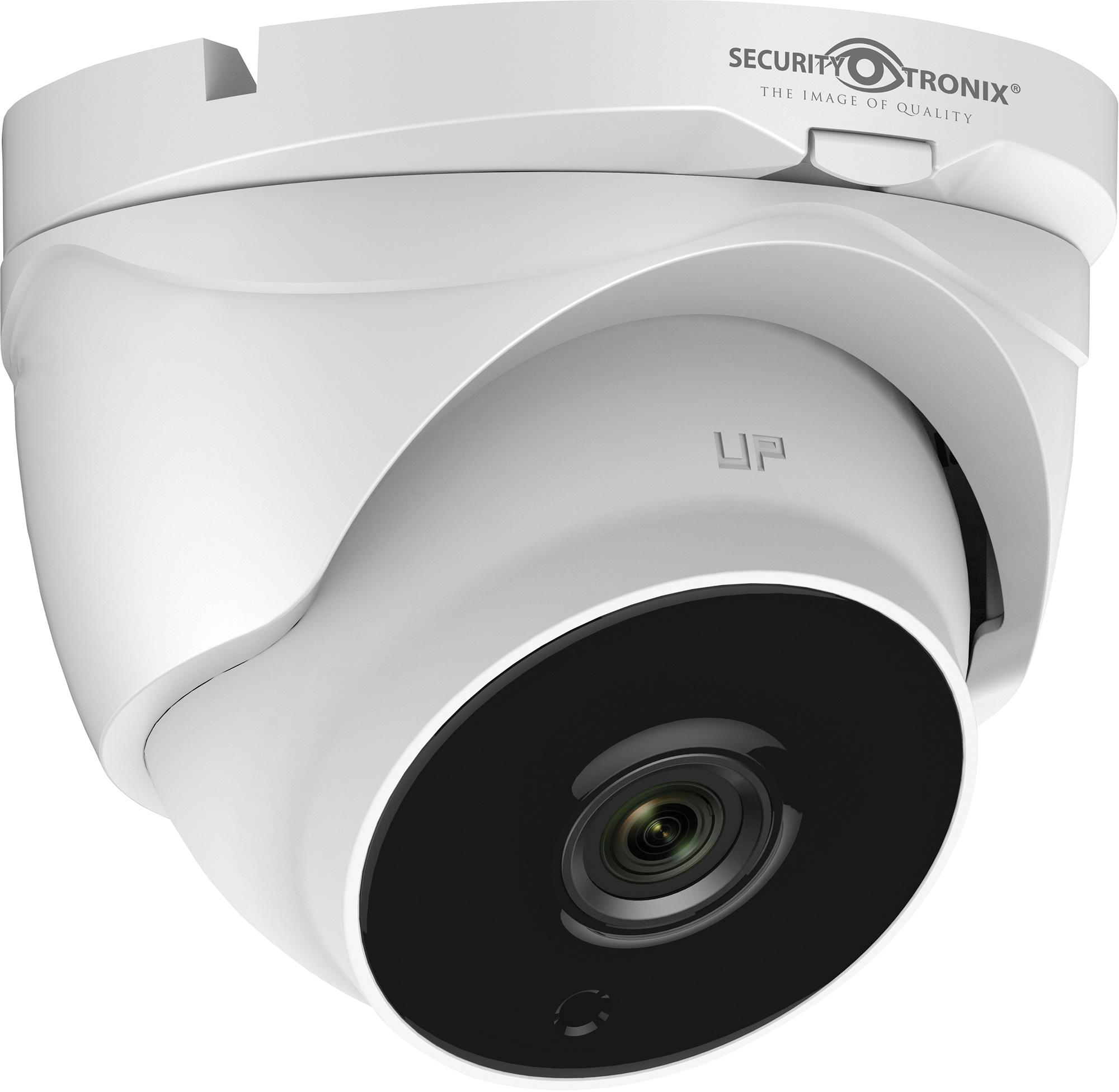 SecurityTronix ST-HDC2VFTD-MZ 2MP HD-TVI Motorized Varifocal Lens Turret Dome Camera SCT-STHDC2VFTDMZ