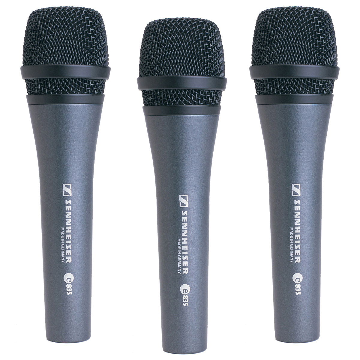 sennheiser e835 dynamic microphone 3 pack. Black Bedroom Furniture Sets. Home Design Ideas