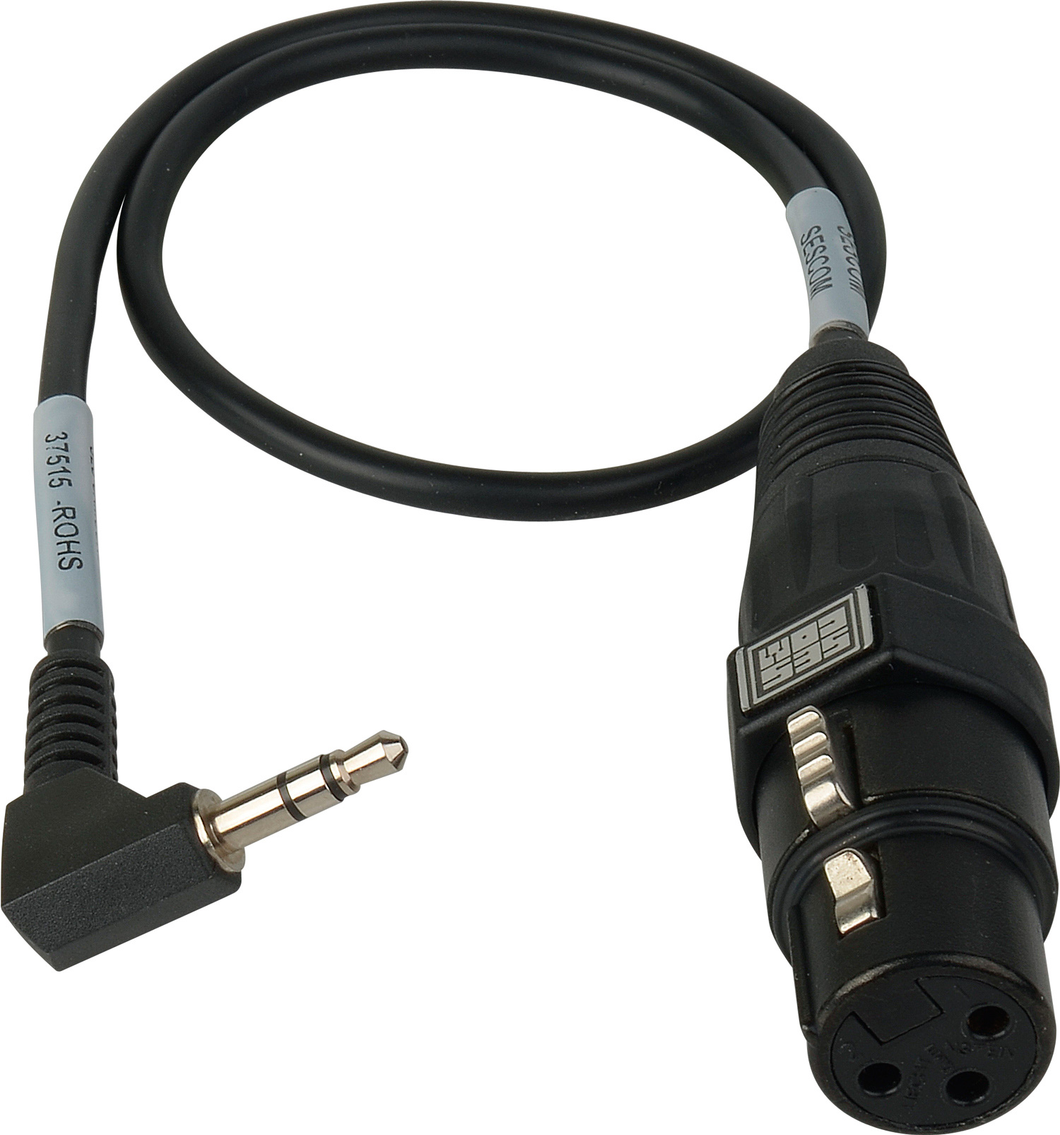 Sescom Ses Camcord Mic Xlr To Dslr Audio Input Adapter Cable Also See Neutrik Jackand Xlr3 Wiring Speciality Audioleads Bulk Zoom