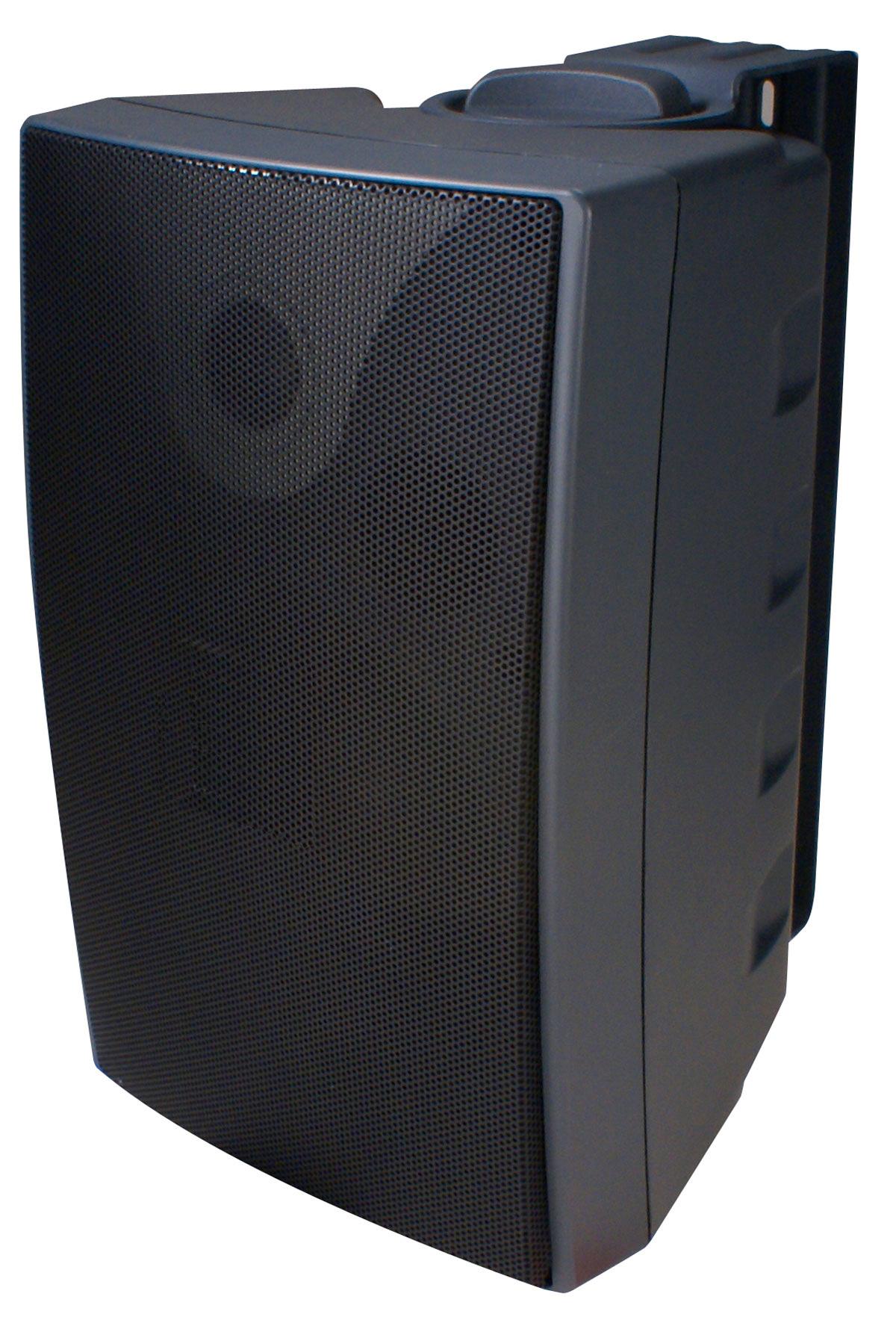 Speco Sp6awx 6 Inch Outdoor Speaker Black Pair