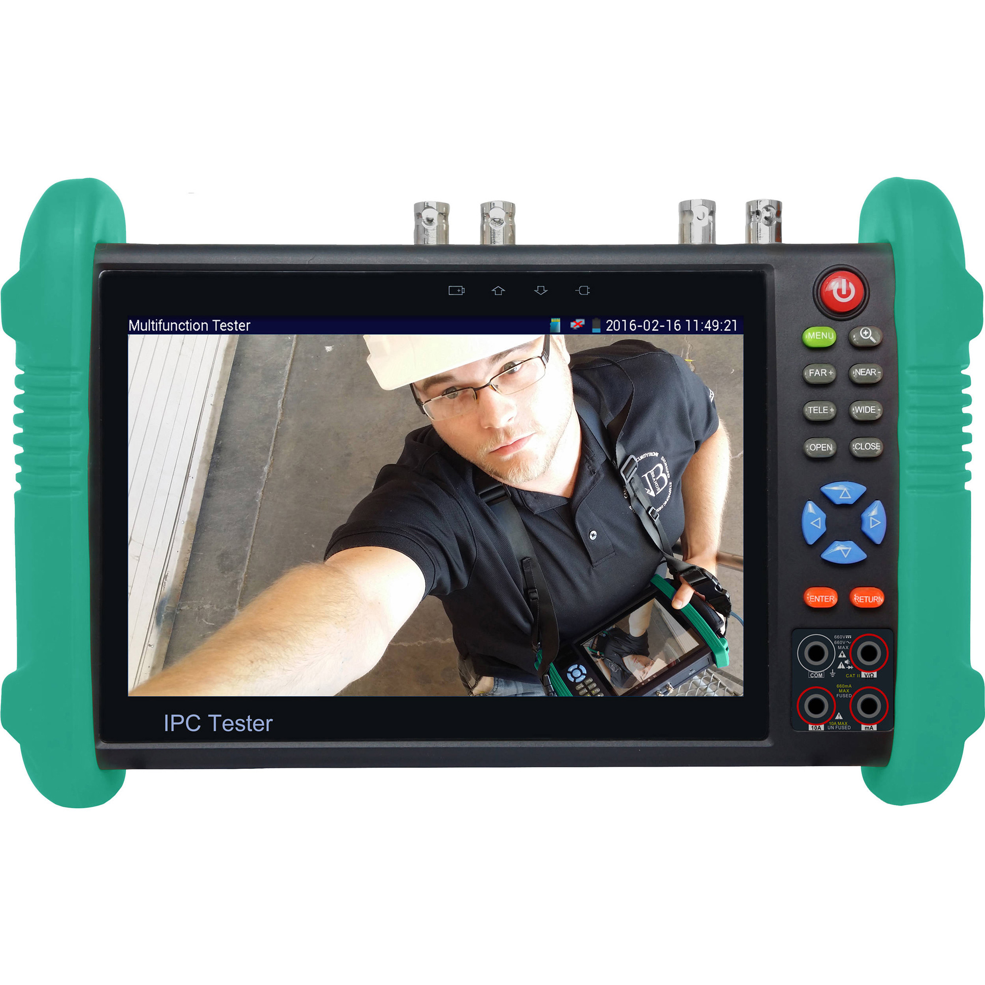 Securitytronix ST-ALLIN1-TEST 7 Inch Touch Screen IP