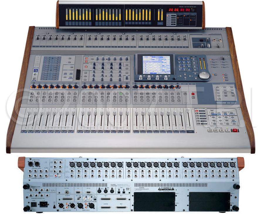 tascam dm 4800 48 channel digital mixer. Black Bedroom Furniture Sets. Home Design Ideas