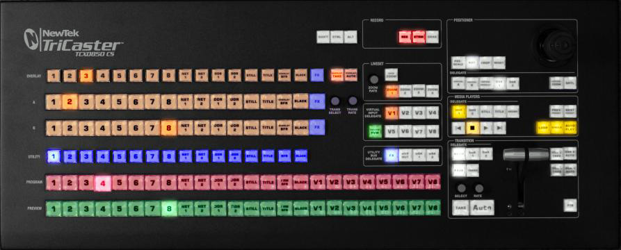tricaster 460 control surface manual