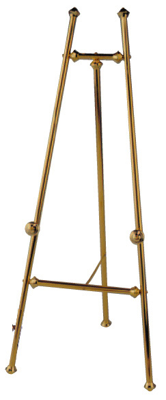 Baroque Brass Easel 60in
