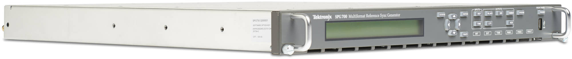 Tektronix SPG-700 SDI Unit (Adds Two Independent Sets of 3G/HD/SD/SDI) Factory Installed TEK-SPG-700-SDI
