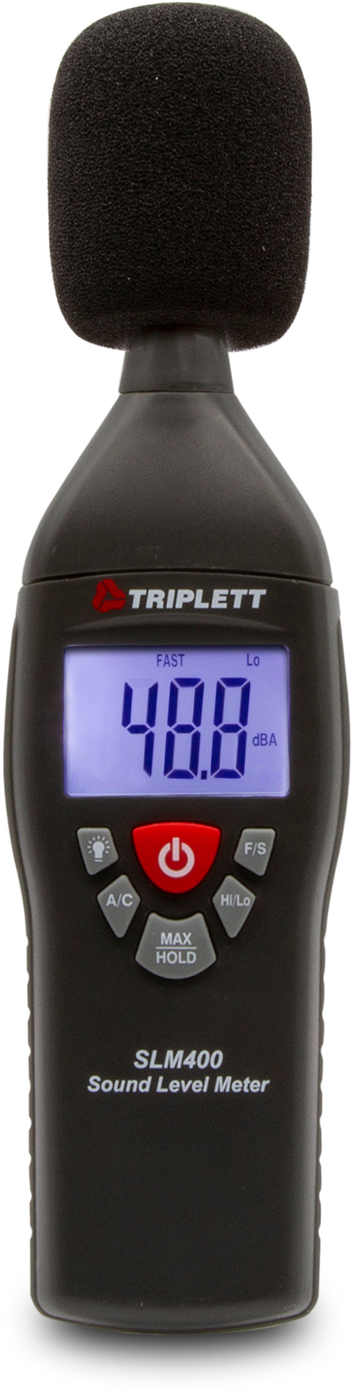 Triplett SLM400-NIST Professional Type 2 Sound Level Meter with Certificate of Traceability to N.I.S.T. TRIPL-SLM400NIST