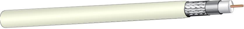 West Penn 256350 18 Awg Rg6 U Type Sdi Coax Cable Plenum