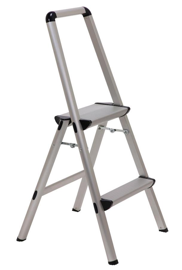 Xtend Amp Climb Ft 2 Ft Ultra 2 Step Aluminum Folding Step Stool