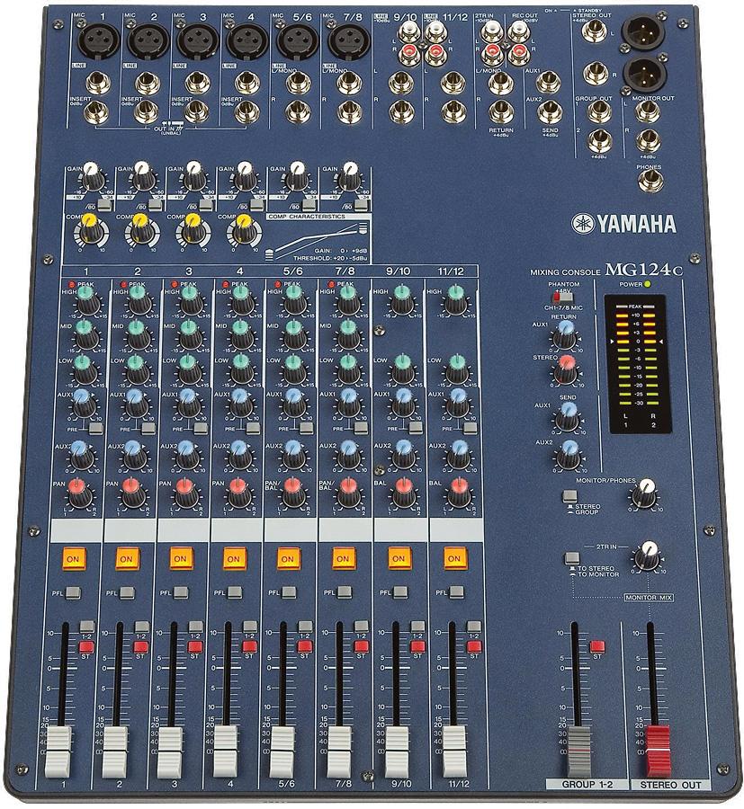 Yamaha Analog Mixer History