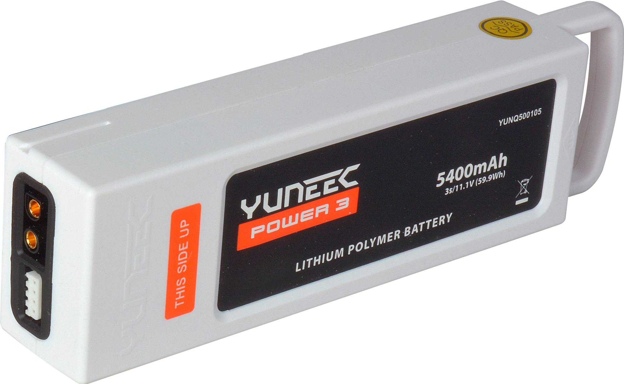 Yuneec 5400mah 3 Cell 3s 11 1v Lipo Battery W Cartridge