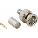 Amphenol 031-71008-1RFX 3-Piece Crimp BNC Plug for RG-59/1505A/9100/20 AWG