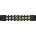 16 Point Neutrik Firewire Patchbay 1394 6pin - 1394 6pin