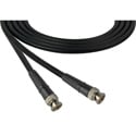 Laird 1505-B-B-3 Belden 1505A SDI/HDTV RG59 BNC Cable - 3 Foot Black