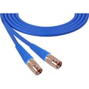Laird 1505-F-F-10-BE Belden 1505A F-Male to F-Male RG59 Digital Coax Cable - 10 Foot Blue