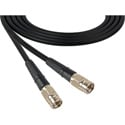Laird 1505-F-F-18IN-BK Belden 1505A F-Male to F-Male RG59 Digital Coax Cable - 18 Inch Black