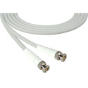 Laird 1694-B-B-6-WE Belden 1694A SDI/HDTV RG6 BNC Cable - 6 Foot White