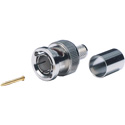 Kings 2065-11-9 M66 BNC Connector for Belden 1855A 1865A & Gepco VDM230 - Silver - 100/bulk packed