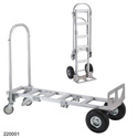 Wesco 220001 Spartan Senior Convertible Production Cart & Hand Truck