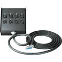 Sescom 25MA-XFB-M05 Audio Snake Cable Mogami Analog 25-Pin D-Sub Male to 8 XLR Female Receptacle Fan Box - 5 Foot