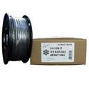 Fehr 2G7B062-00250 1/16 X 250 Foot 7X7 Black Galvanized Aircraft Cable