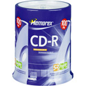 Memorex 80 Minute 52x CD-R 100 pk Spindle