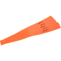 Tecnec Cord Lox 1 1/2in. x 20in. Cable Tie Wrap - DayGlo Orange