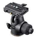 Manfrotto 486MGRC5 Hydrostatic Ball Head w/RC5/501PL Quick Plate