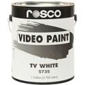 Rosco TV-White Paint 1 Gallon