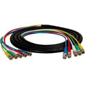 Laird 5BNC-25 5-Channel BNC Video Snake Cable 25 Foot