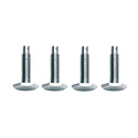 Set of 4 Rack Leveling Feet