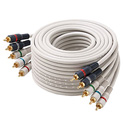 5 RCA to 5 RCA Component Video and Audio Cable- 6ft.
