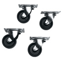 Commercial Grade Casters for all SLIM 5 Series Racks Set of 4