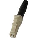 Senko 931-251-2D3 Premium 127um MultiMode Simplex Fiber LC Conector 3mm Blk Boot