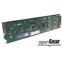 Cobalt Digital 9433-EMDE-ADDA-OE Fiber OE Rx w/ 16-Ch AES / 8-Ch Analog Audio Embed / De-Embed openGear Card