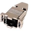 D-Sub 9-Pin Metal Hood for 9-Pin D-Sub Connectors & Plenum Cable