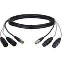 Laird A2V1-SNK-10 Canare A2V1 Dual XLR M-F & BNC Dub Cable - 10 Foot