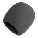 Gray Foam Windscreen for all Shure Ball Type Mics