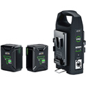 Anton Bauer 8675-0171 Titon Micro 90 V-Mount Battery & Charger Kit