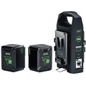 Anton Bauer 8675-0173 Titon Micro 150 V-Mount Battery & Charger Kit
