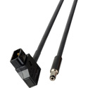 Laird AB-PWR5-01 PowerTap Male to Right Angle 4-Pin XLR Female DC Power Cable - 1 Foot