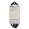 ACCU-CABLE AC3PDMX10PRO 3 Pin Pro DMX Cable - 10 Foot